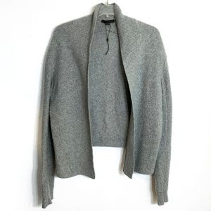 Alexander Wang Speckled Cotton Cashmere Cardigan